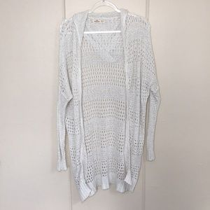 Draped Loose Knit Sweater